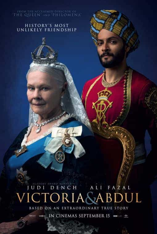 UK Box Office Weekend 15th September 2017:  IT still on top of the UK box office, Victoria and Abdul top new film at 2
