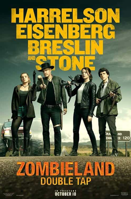 Zombieland: Double Tap is given a 15 age rating in the UK for strong gory comic violence