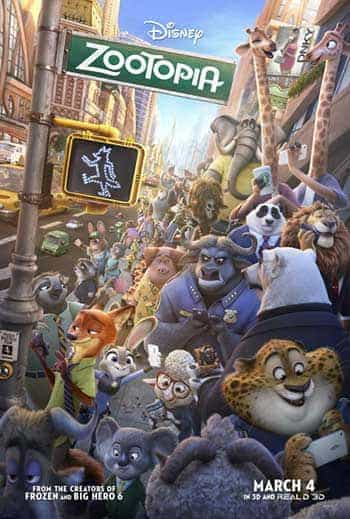 World Box Office Review Weekending 6th March 2016:  Zootopia takes over the world box office