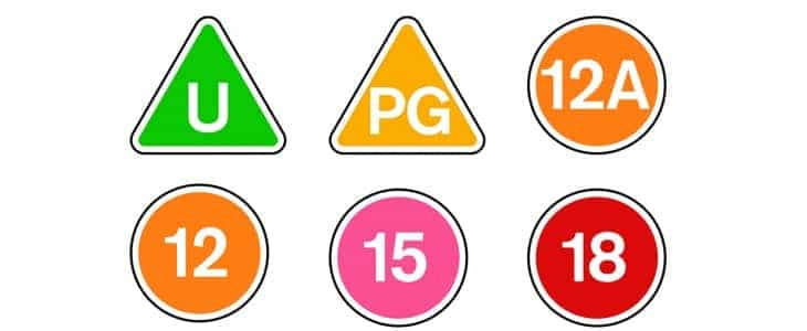 The BBFC have updated the age rating symbols and guidelines in the UK - Netflix to adopt them for their streaming service