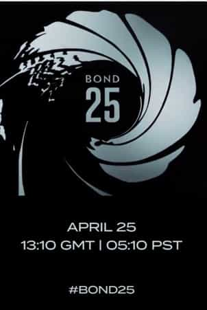 Bond 25 will get a title reveal April 25 at 1:10pm GMT | 5:10am PST with director and cast *UPDATE* Nothing but cast and writer revealed - all in Jamaican setting of Goldeneye