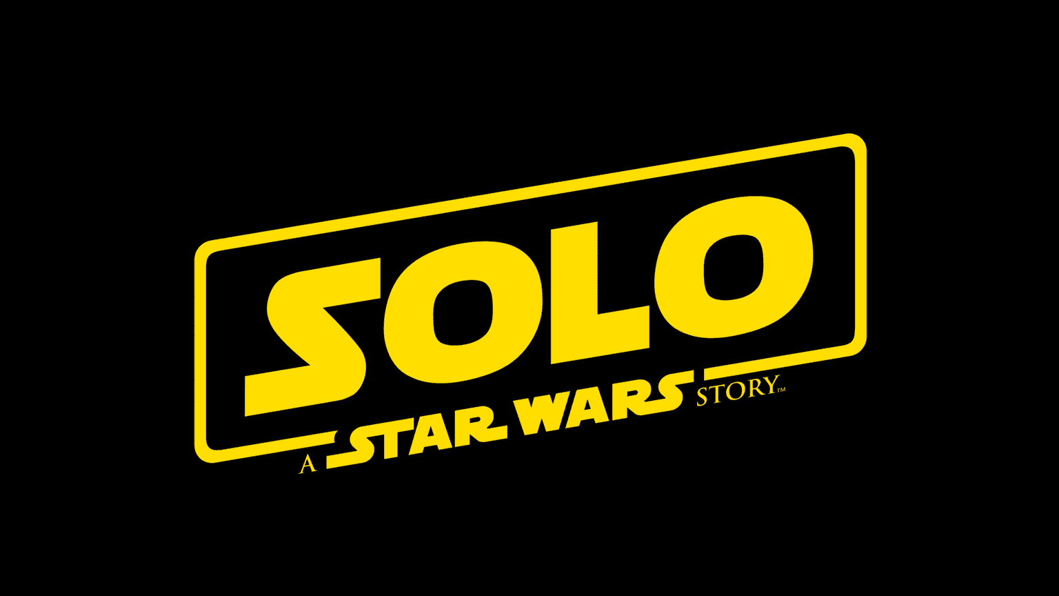 Name of new Star Wars Story film is revealed as Solo: A Star Wars Story - no surprise there then!