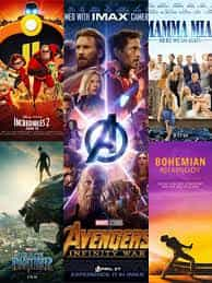 Super Heroes and Super Trooper were the top grossing films in the UK over 2018