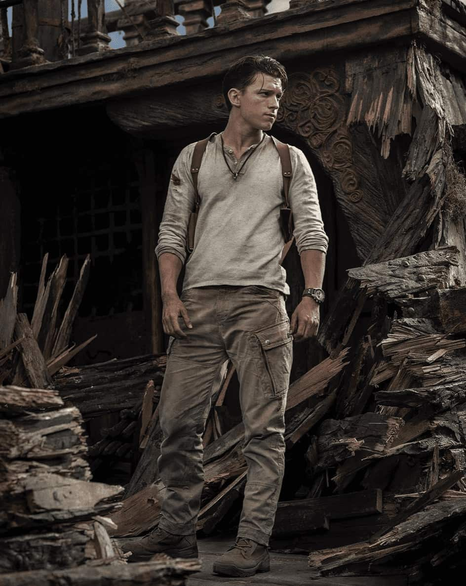 Tom Holland releases first image of himself as Nathan Drake in Uncharted