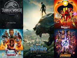 Another Superhero year at the Box Office for America in 2018 with Black Panther leading the way