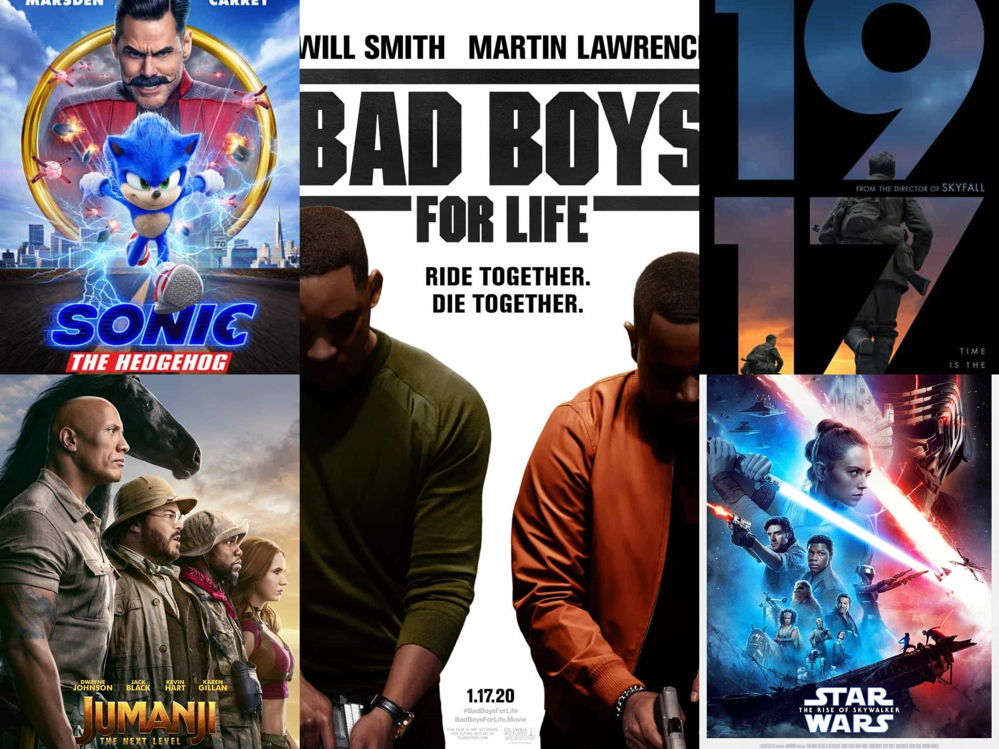 Top Grossing Movies 2020 US -  After a year of cinema closures and then screens with limited capacity, Bad Boys For Life is the top grossing movie in the US